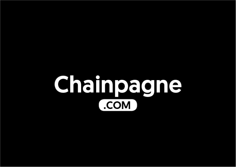 Chainpagne.com is for sale
