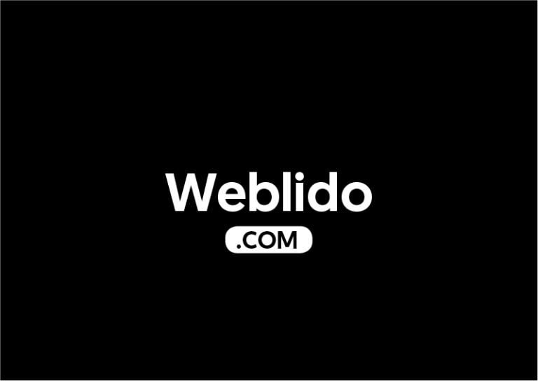 Weblido.com is for sale