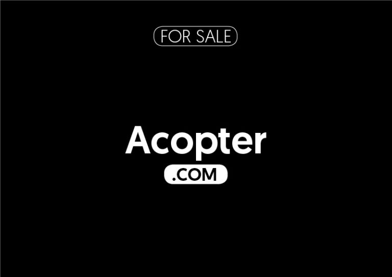 Acopter.com is for sale
