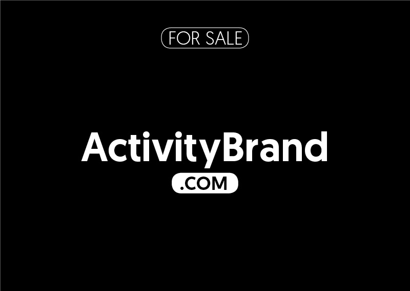 ActivityBrand.com is for sale