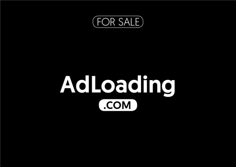 AdLoading.com is for sale