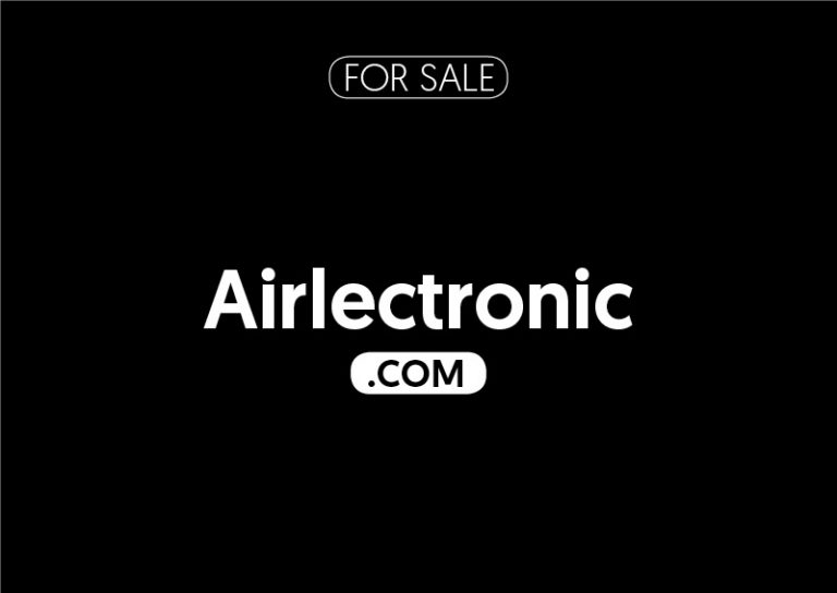 Airlectronic.com is for sale