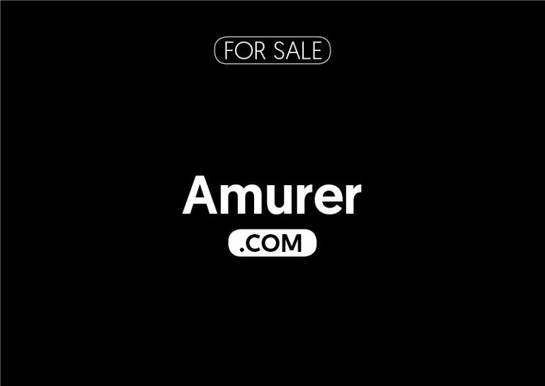 Amurer.com is for sale
