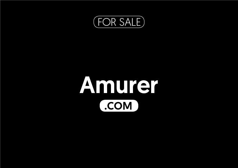 Amurer.com is for sale