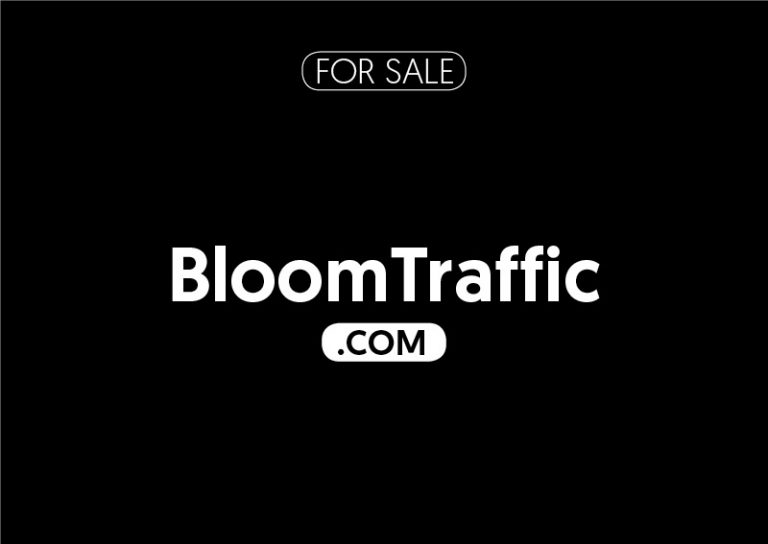 BloomTraffic.com is for sale