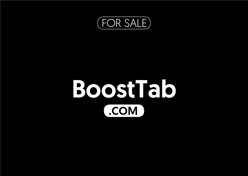 BoostTab.com is for sale