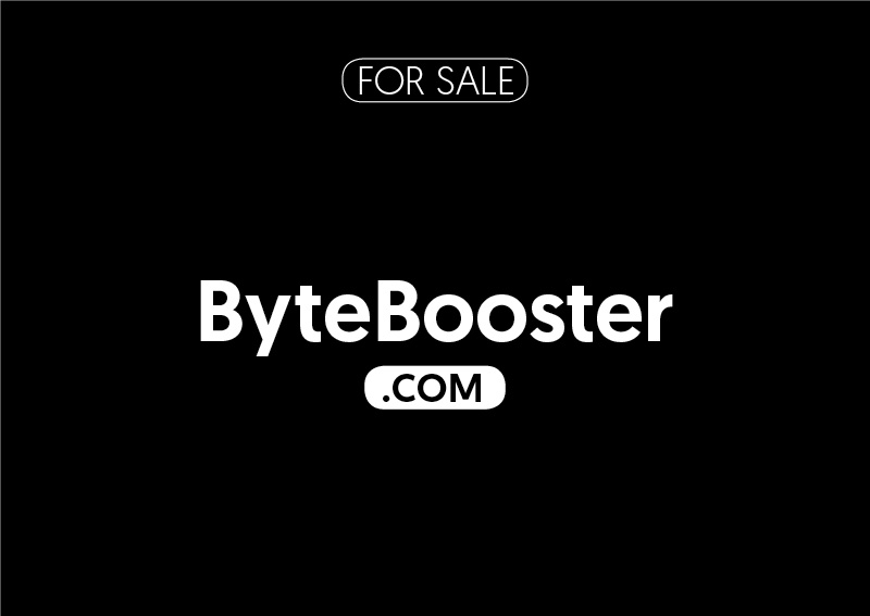 ByteBooster.com is for sale