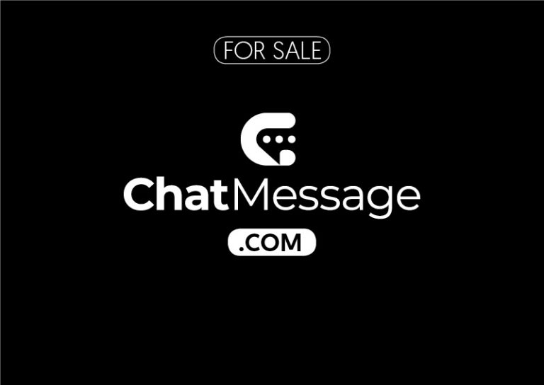ChatMessage.com is for sale