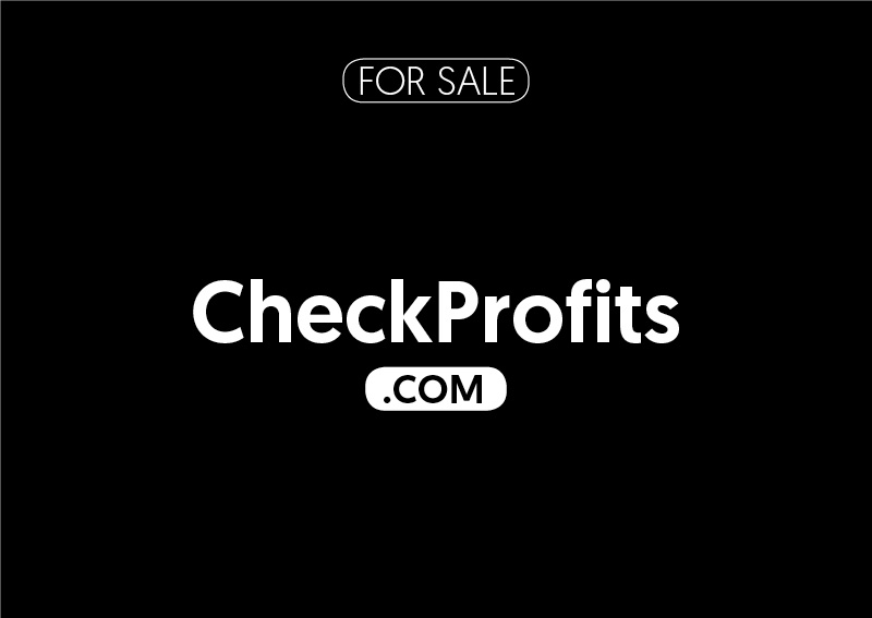 CheckProfits.com is for sale