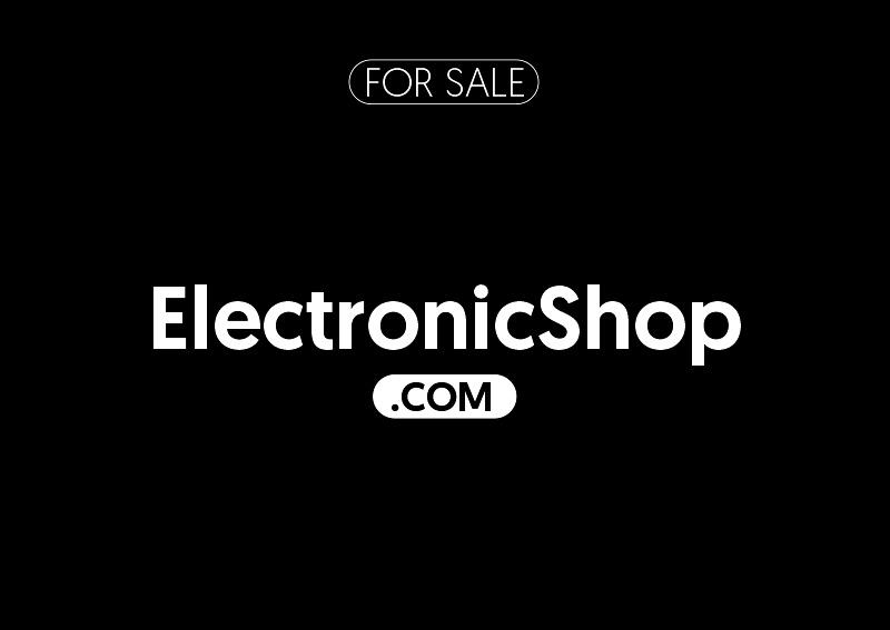 ElectronicShop.com is for sale